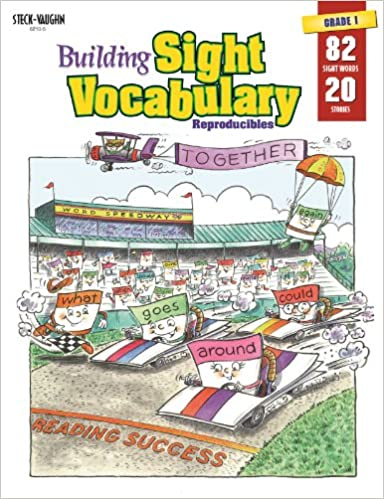 Building Sight Vocabulary Reproducibles Book 1 (Grade K - 1 ...