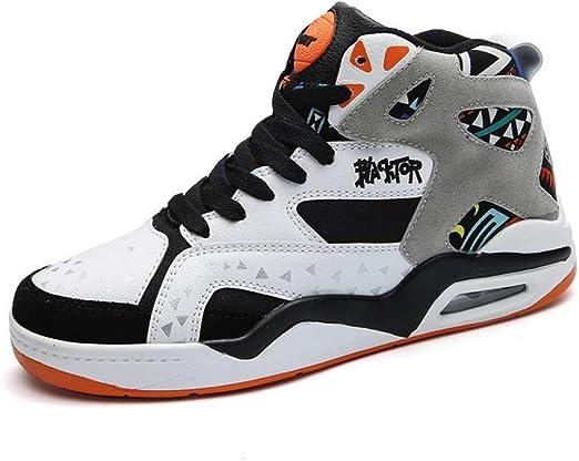 FJJLOVE Zapatillas de Baloncesto para Hombre, amortiguación ...