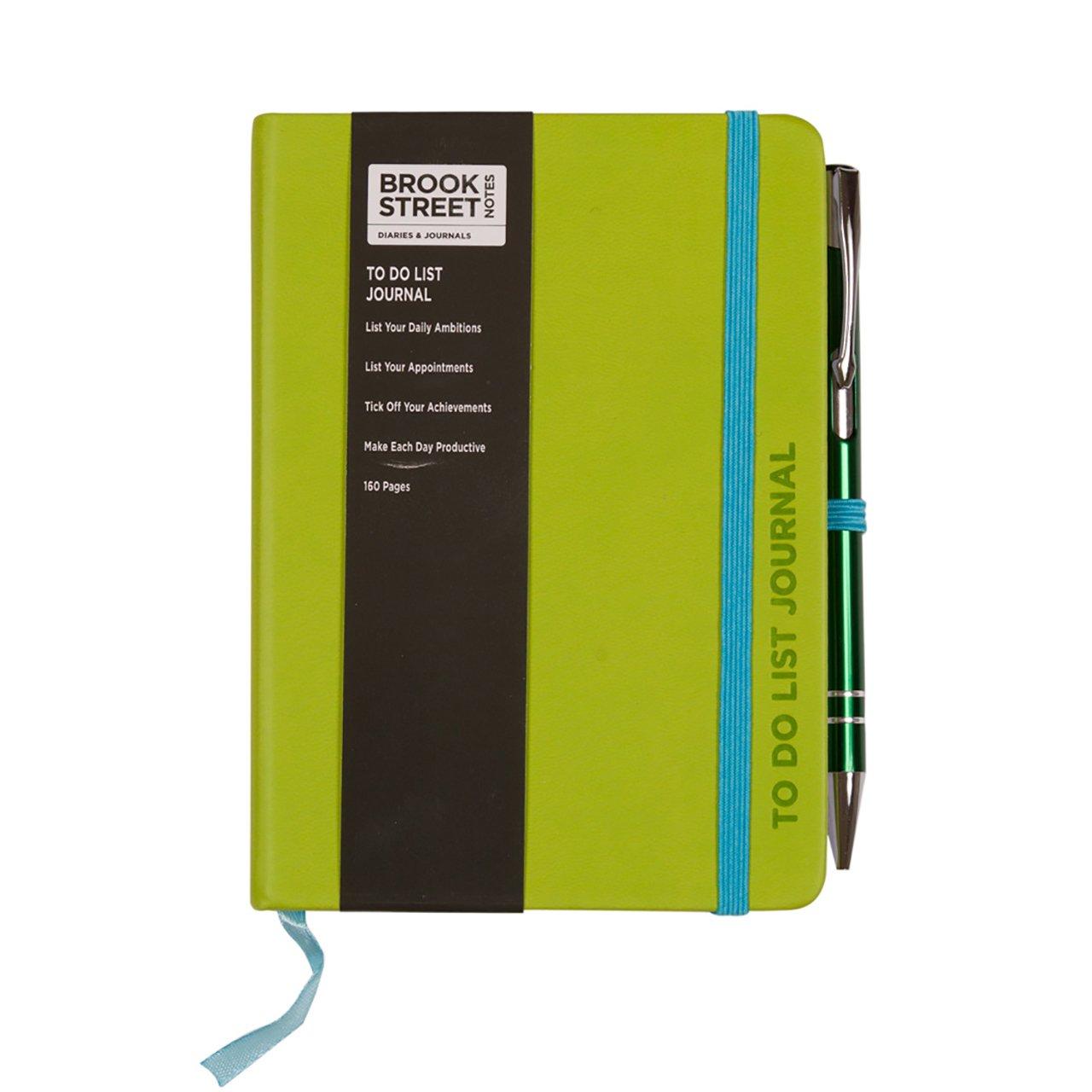 Taccuino con lista delle cose da fare, formato A6 A6 Bright Orange Brook Street Notes