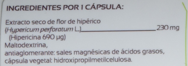 Anastore Hipérico 230 mg - 60 Cápsulas: Amazon.es: Salud y cuidado personal