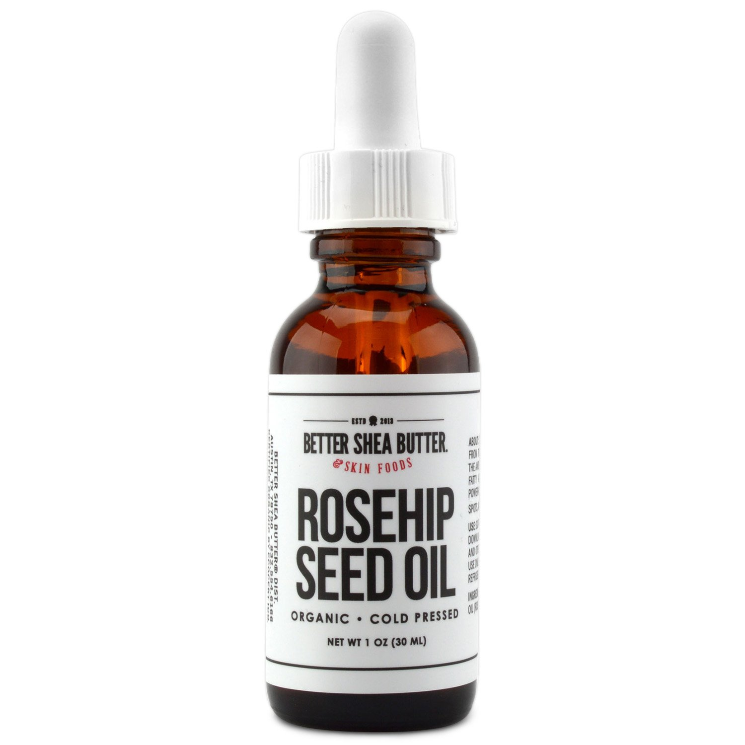 Organic Rosehip Seed Oil by Better Shea Butter - 1 oz