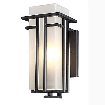 Sf Murale Simple Lampe Applique De Contemporaine Air Et Plein Étanche Lumière En Jardin Extérieure Mur Rj5q4c3ALS