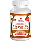 Activa Naturals Bee Pollen Supplement with Royal Jelly & Propolis to Support Immune System Health - 120 Veg. Capsules