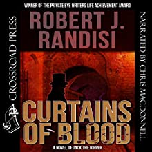 Curtains of Blood Audiobook by Robert J. Randisi Narrated by Chris MacDonnell