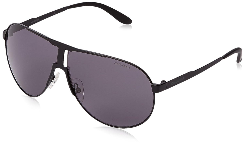 b85d9ad0203d Amazon.com: Carrera New Panamerika Aviator Sunglasses, Matte Black & Gray, 64  mm: Clothing