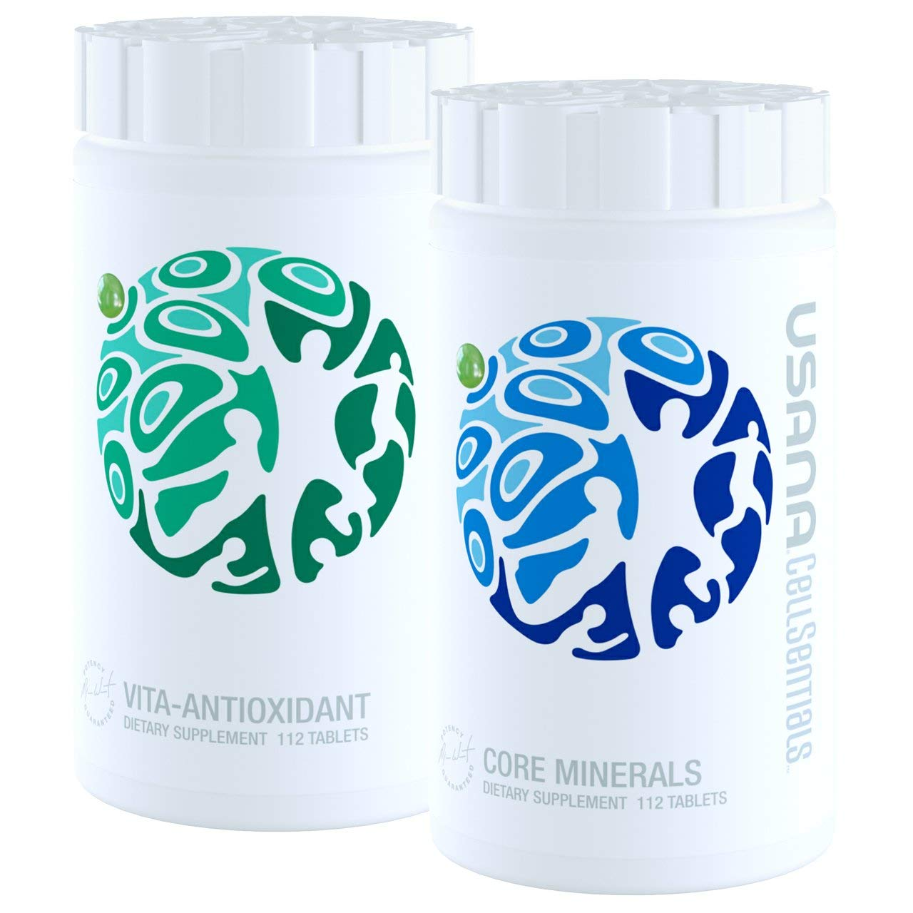 USANA CellSentials triple action cellular nutrition system Core Minerals and Vita