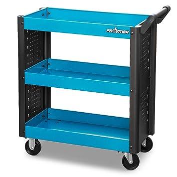 Frontier carro herramientas taller 3 estantes Herramientas con ruedas ope380: Amazon.es: Coche y moto