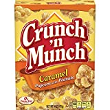 Crunch N Munch Caramel Popcorn with Peanuts, 6 Ounce (Pack of 12)