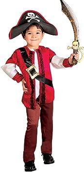 NET TOYS Disfraz de Pirata niño Traje corsario Infantil L 140/152 ...