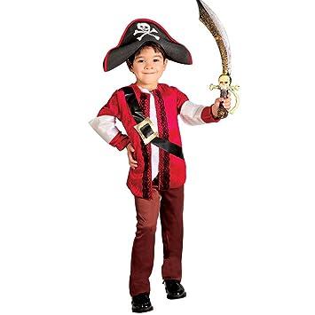NET TOYS Disfraz de Pirata niño Traje corsario Infantil L ...