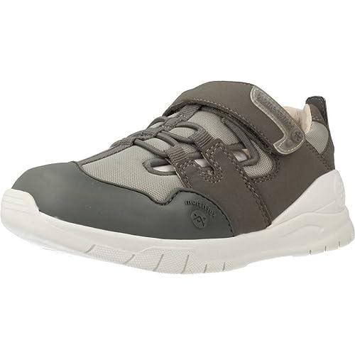 Biomecanics Zapatos Semi Abiertos con Velcro BIOEVOLUTION 182194B Gris: Amazon.es: Zapatos y complementos