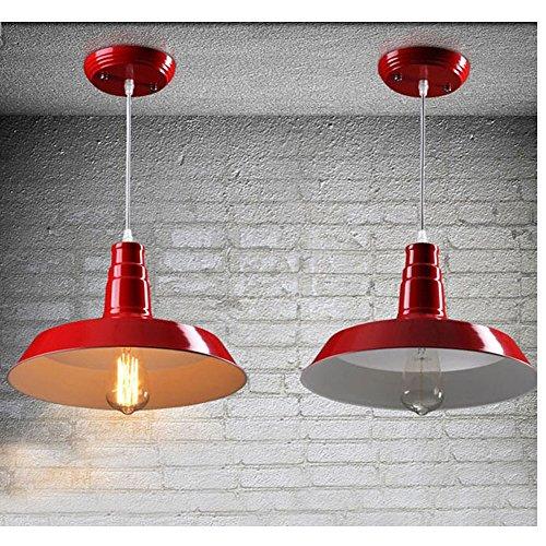 Vintage Aluminum Pendant Light