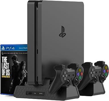 Amazon.com: Kootek - Soporte vertical para PS4 Slim / PS4 ...