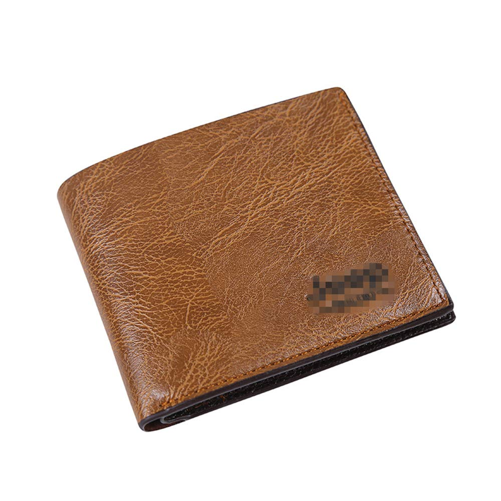 Fathers Day Mens Wallet Business Card Pack Folding Multi-function Coin Purse
