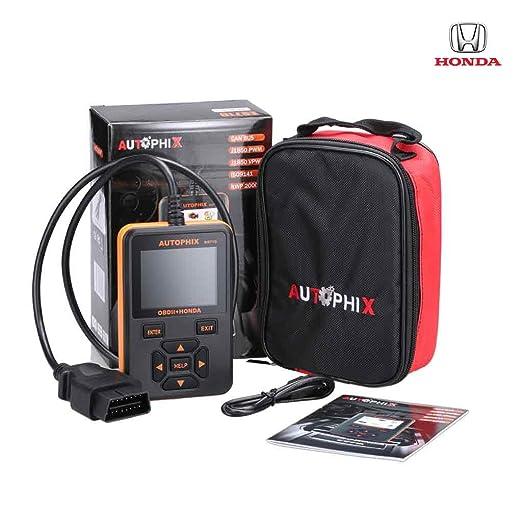 Autophix ES710 - Profesional Escáner Herramienta de Diagnostico EOBD OBD2 OBD II Lector de Código para Coche Honda: Amazon.es: Coche y moto