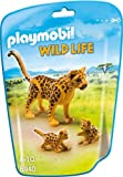 Playmobil 6940 - Leopardo con Cucciolo, Multicolore