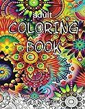 Adult Coloring Book: Expert Level - Mind-Boggling Fractals, Mandalas and Patterns
