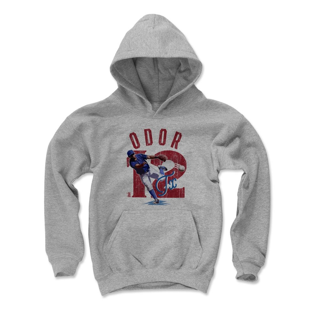 ロウグネドオドールアーチR Texas Kids Youth Hoodie B01N8UNRQ0 Large|Gray Gray Large