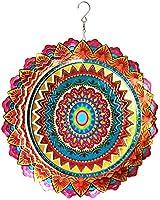 FONMY Mandala Wind Spinner Garden Decorations