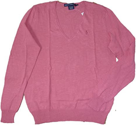 Ralph Lauren Mujer Fein Jersey para Color Rosa Polo Jinete L ...