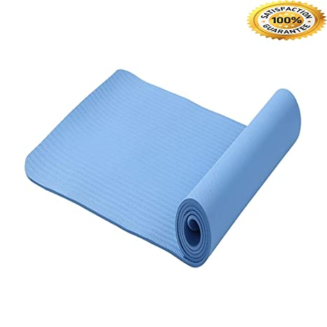 Amazon.com : FIRE ANT 6MM TPE Non-Slip Yoga Mats for Fitness ...
