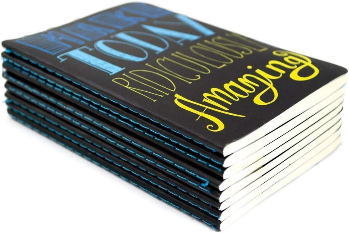 Set of 8 Quotations International Arrivals 118-QT Pocket Pal Mini Journals