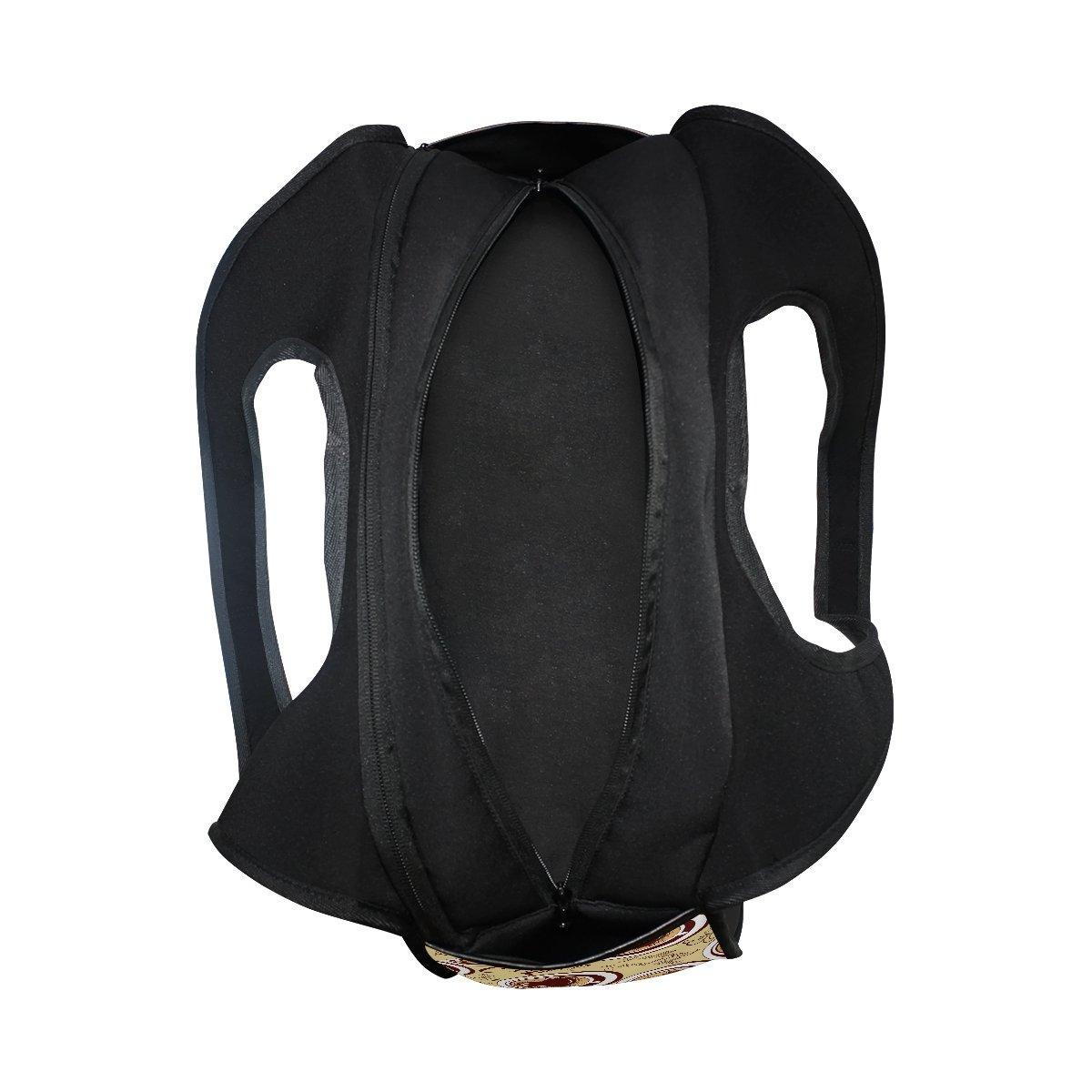 AHOMY Canvas Sports Gym Bag Coffee Beverages Travel Shoulder Bag
