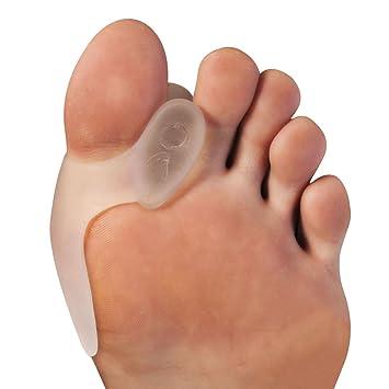 Corrector de juanetes AllThingsAccessory®, separador de gel para los dedos con protector de juanetes, 1 par: Amazon.es: Salud y cuidado personal