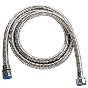 "Extra Length Shower Hose 79"", Angle Simple Stainless Steel Spray Hose, Flexible Shower Hose No Tangles, Bidet Sprayer Hose, Bathtub Shower Extension Hose 1/2"" IPS, Chrome"
