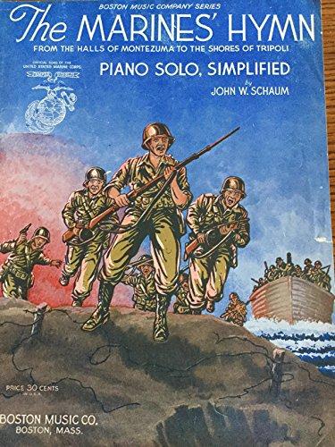 The Marine's Hymn - Sheet Music (Simplified Arrangement by John Schaum) ()