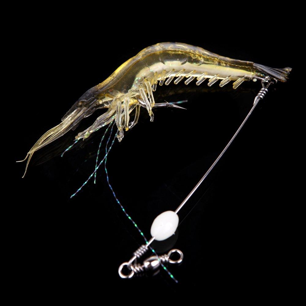 Lixada se/ñuelo de la pesca Pesca de se/ñuelo artificial camar/ón Bionic 18cm 8g