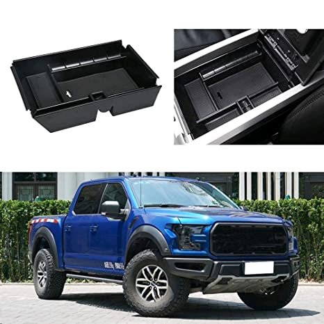 2010 F150 Accessories >> Auovo Center Console Organizer Tray Fits For Ford F150 Raptor 2009 2010 2011 2012 2013 2014 Glove Container Armrest Storage Box Accessories