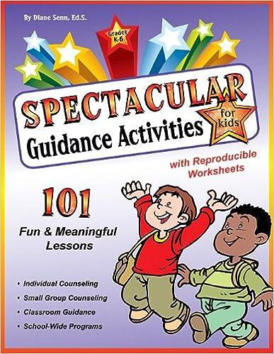 Workbook elementary art worksheets : Spectacular Guidance Activities for Kids book w/CD: Diane Senn ...
