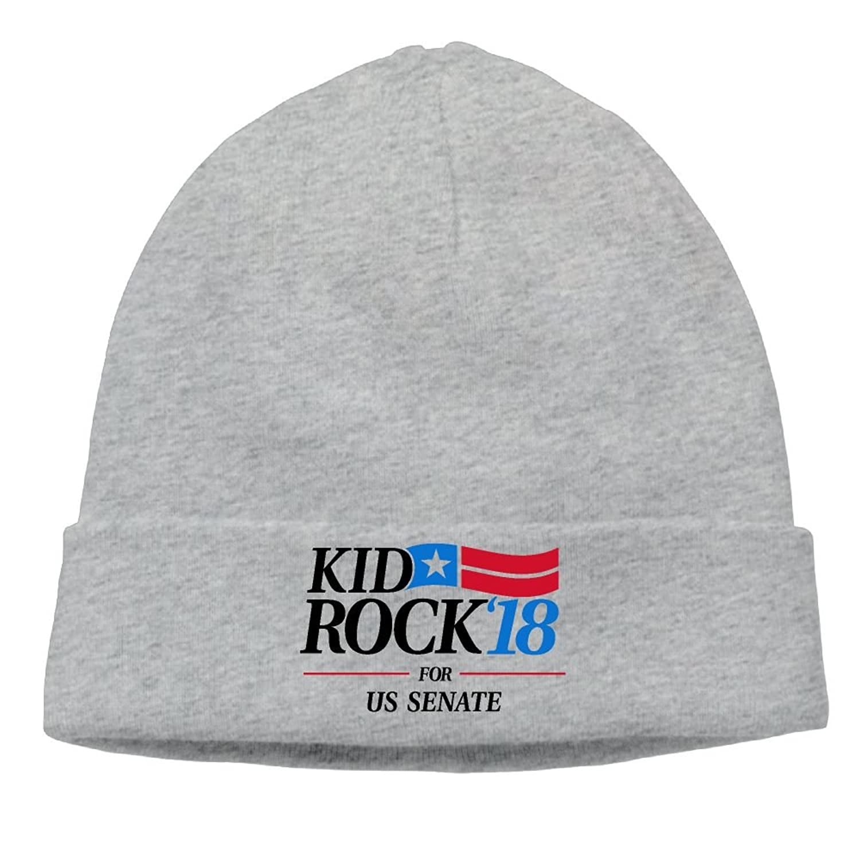 Amazon.com: GHRTYUN Kid Rock18 For US Senate Unisex New Style Hipster Beanie Cap&Hip-hop Cap&Set Head Cap&Skull Cap&Toboggan Cap: Clothing