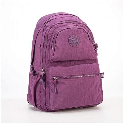 ACELURE Mochila Escolar para Mujer Mochilas para Chicas Adolescentes Nylon Bolsas Mochila de Viaje Mujer