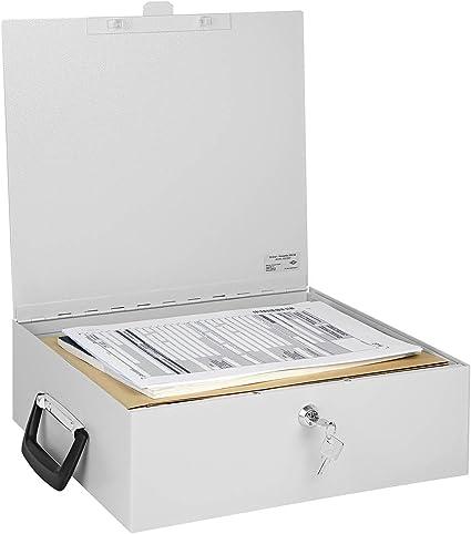 Wedo 1021637 - Caja de metal para carpetas de documentos A4 ...