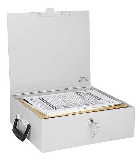 mit Koffergriff DIN A4 WEDO Dokumenten-Kassette