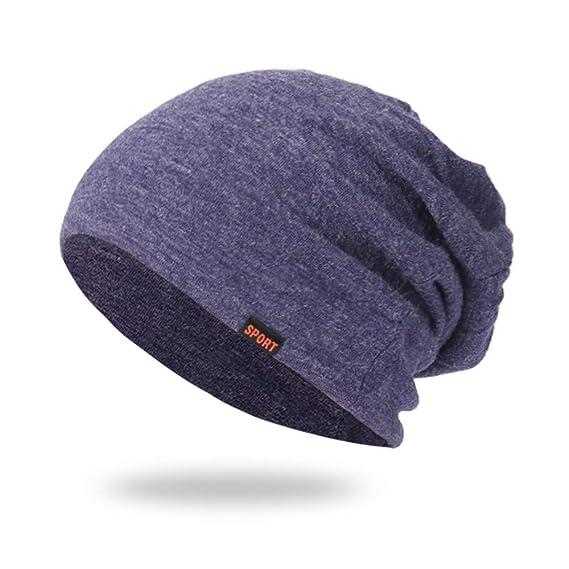 84d381174b7e9 QinMM Unisexo Sombrero Holgado de Punto para Mujer y Hombre Invierno de  Caliente Gorro de Suave de Esquiar  Amazon.es  Ropa y accesorios