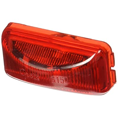 Grote Marker Lamp, LED, 3 Diode, Red: Automotive