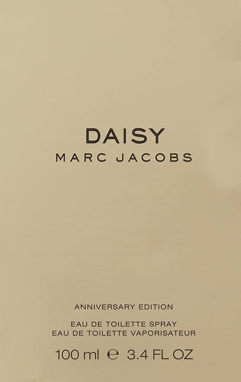 MARC JACOBS Daisy Eau de Toilette Spray Anniversary Limited Edition, 3.4 Ounce