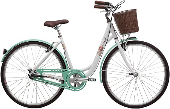 Raleigh Caprice Shopper Street Classic - Bicicleta híbrida, Color ...