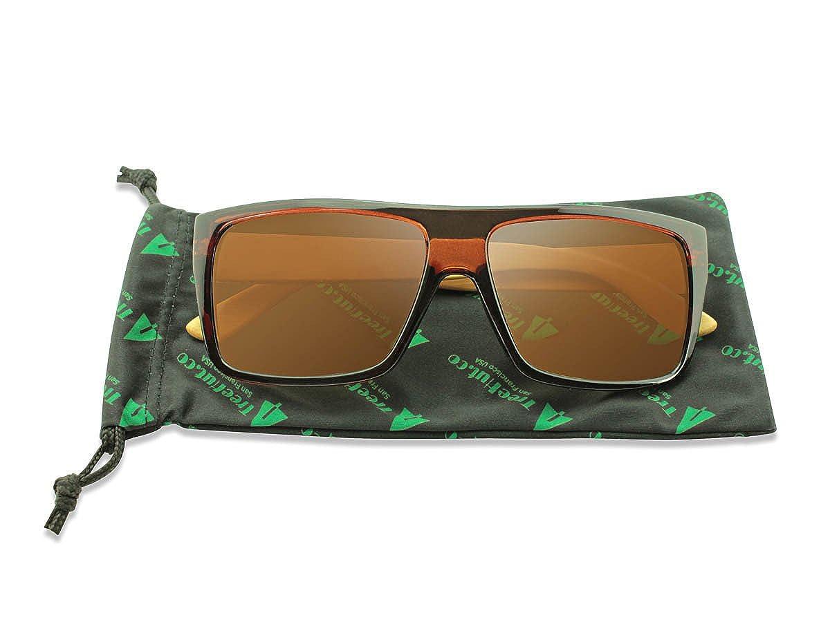 Amazon.com: Treehut - Gafas de sol de madera de bambú ...