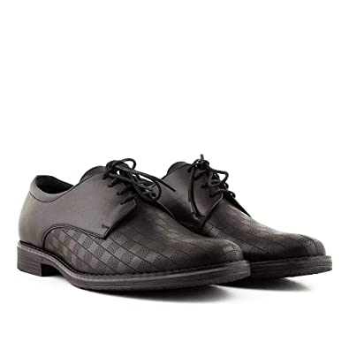 371c2c7f8 Don Luca London Paddington Men s Derby Leather Shoes in Black Brown ...