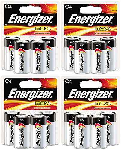 Energizer Alkaline Battery Batteries Count