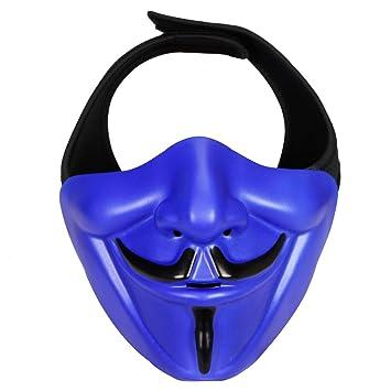 haoYK Schutzhülle mit Maske, Taktisch Paintball Maske, Kostüm Party ...