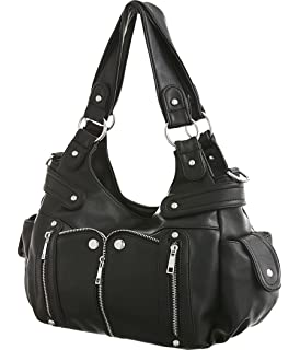 Amazon.com: Desmond Black Cross-body Convertible Hobo Purses: Shoes