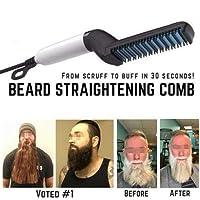 Colorcasa TameFinish Beard Straightening Comb -MediFit Show Cap Men 2019