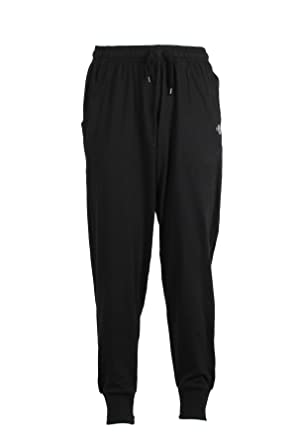 Sky Pantalón chándal de Puro algodón Negro Negro Negro: Amazon.es ...