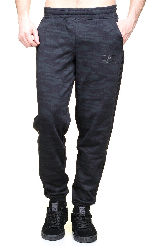 (エンポリオアルマーニ) Emporio Armani - EA7 メンズジョギングパンツ B01M1KOFJU EU S-(日本サイズS相当)|ブラック ブラック EU S-(日本サイズS相当)