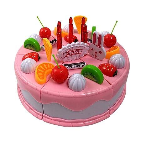 Hamkaw Juguete para Tarta de cumpleaños, Juguetes educativos ...